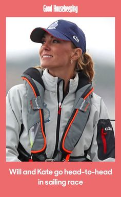The Duke and Duchess of Cambridge went head-to-head in the inaugural The King's Cup sailing race - and Kate looked the epitome of nautical chic Duke And Duchess, Duchess Of Cambridge, Helen Glover, Sailing Regatta, John Bishop, Sail Racing, King Cup, Poses For Photos