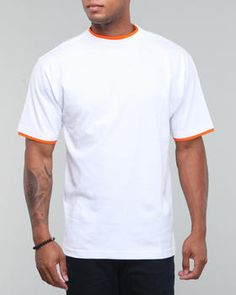 Basic Essentials - Two tone short sleeve tee