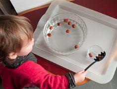 La vie pratique transvaser objets qui flottent Montessori Activities, Motor Activities, Toddler Activities, All Schools, Practical Life, Infancy, Classroom Inspiration, Life Skills, Homeschool