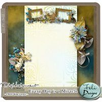 Every Day is a Miracle Blog Design (PU/S4H) by Feli Designs