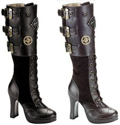 Steampunk Shoes TO DIE FOR!!! - The Steampunk Empire