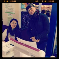 Danielle and Jessica at the Tokyo International Quilt Show 2014 - My Craft Land Diary