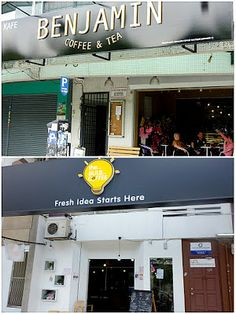 Eat Drink KL: Benjamin Coffee @ Hartamas & Bulb Coffee @ Damansa...