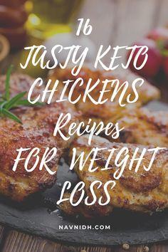 16 Delicious Ketogenic Chicken Dinner Recipes to Burn FatThese keto chicken recipes are great for a low carb dinner. So, if you're on keto diet or have no idea how to eat keto, try these recipes. #ketodiet #ketogenicdiet #ketotips Paleo Chicken Recipes, Keto Chicken, Keto Recipes, Dinner Recipes, Healthy Recipes, Macro Recipes, Macro Meals, Weight Gain, Weight Loss