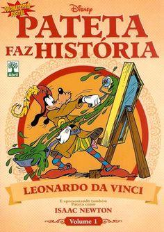 Pateta Faz História 01 - Leonardo da Vinci e Isaac Newton