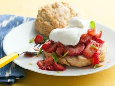 Classic Strawberry Shortcake Recipe : Food Network Kitchen : Food Network - FoodNetwork.com