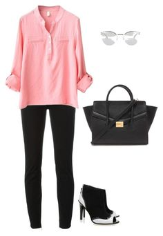 """""""Kat Maconie"""" by tina-pieterse ❤ liked on Polyvore featuring Fendi, Dsquared2, Kat Maconie and Forever 21"""