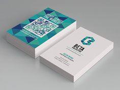 Creative and Unique Business Card Designs carte de visite flash code