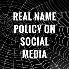 Real Name Policies on Facebook, LinkedIn, Quora and Google Plus: Clarified - http://360phot0.com/real-name-policies-on-facebook-linkedin-quora-and-google-plus-clarified/