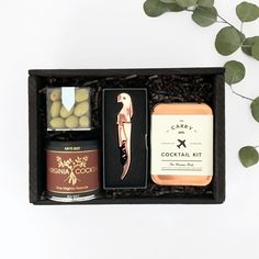 Happy Hour Box. Groomsmen gift idea