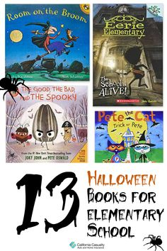 It's spooky season! Get your little monsters ready for a spooktacular good time and enhance their love of reading with these 13 fun and not-so-scary Halloween books.