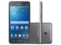 "Smartphone Samsung Galaxy Gran Prime Duos TV Dual - Chip 3G Android 4.4 Câm. 8MP Tela 5"" TV Digital"