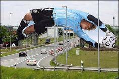 Espectacular valla del mundial de alemania 2006