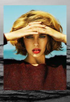 Model Adeline Jouan for September (2012) issue of SnC Magazine.  Photo by Nikolay Biryukov.