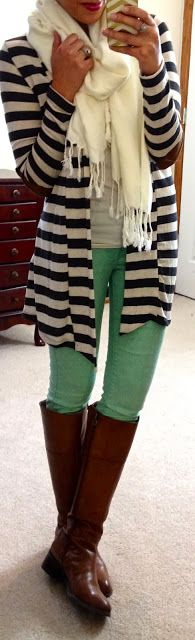 mints, sweater, mint skinni, outfit idea, style, fashionista, flat, stripe, everyday outfit