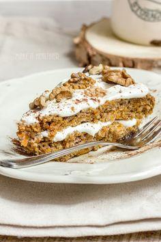 Make it healthier: Gryczano-owsiane ciasto z dyni   bez mąki, bez cukru