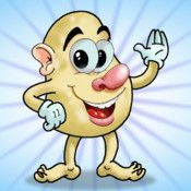PotatoMan. Price: $1.99. PotatoMan is a funny game for  kids and adults. Build your own PotatoMan. Choose from over   70 different body parts (eyes, noses, mouths, ears, hair,  lip. .