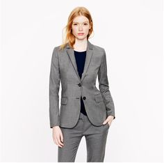 Office wear for women: Seven tips to look sharp at the office (Start with a @J.Crew suit)