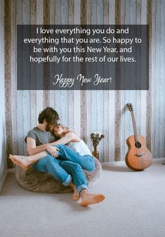 80 Happy New Year 2020 Love Quotes for Her & Him to Wish & Romance Best New Year Wishes, New Year Wishes Images, New Year Wishes Messages, Happy New Year 2015, Happy New Year Greetings, Inspirational New Year Message, New Year Captions, Quotes About New Year, Year Quotes