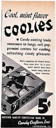 """1944 ad. If you're unfamiliar with the term """"coolie,"""" here .   20 Of The Most Racist Vintage Ads"""