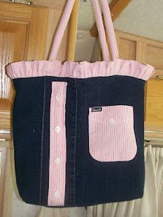 how to make a backpack out of jeans no sew