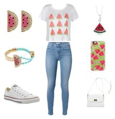 """""""Untitled #35"""" by vanessalvarado on Polyvore featuring Ally Fashion, Casetify, Converse, Chanel and Betsey Johnson"""