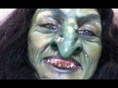 Halloween Witch Makeup Tutorial #Ad - YouTube