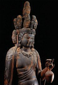 渡岸寺 国宝木造十一面観音立像
