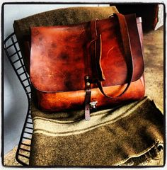 Leather bag, Todd Snyder coming soon.