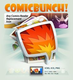 ComicBunch Icon by ncrow.deviantart.com