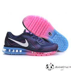 buy popular c7abc c1e7b Nike Air Max 2014 Blue Pink