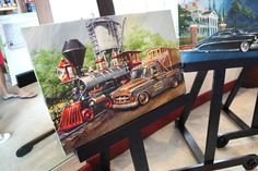 Chip Foose Paintings