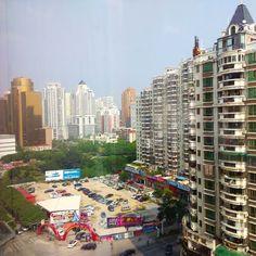View from the hotel room (take 2). #xiamen #China #сямынь #Китай #厦门