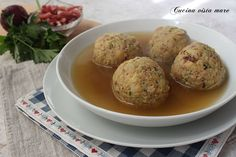 Canederli allo speck Antipasto, Ravioli, Dumplings, Gnocchi, Baked Potato, Spaghetti, Food And Drink, Cooking, Breakfast