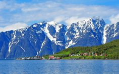 Hamnnes, Nordreisa, Troms, Norway Travel Around The World, Around The Worlds, Norwegian Style, Beautiful Norway, Visit Norway, Arctic Circle, Top Destinations, Countries Of The World, Vacation Spots