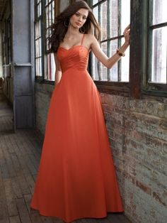 Mary's Bridal Bridesmaid Dresses Burnt Orange