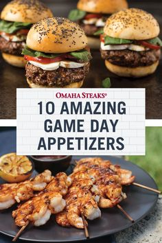 10 easy and delicious game day appetizers to serve a crowd at a tailgate or party! These recipes are perfect football party food. Tailgating Recipes, Tailgate Food, Barbecue Recipes, Grilling Recipes, Cooking Recipes, Game Day Appetizers, Yummy Appetizers, Yummy Snacks, Appetizer Recipes