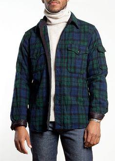 engineered garments cpo shirt $276