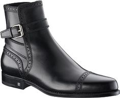 2010 Louis Vuitton Men Millésime Ankle boot in calf leather. YNSQ1YPC