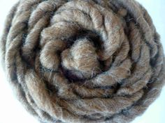 Handspun yarn Shetland Moorit 100g Super Bulky by HootersHall, £8.50