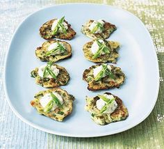 A tempting and tasty gluten-free option for your party guests. These are a little like small blinis