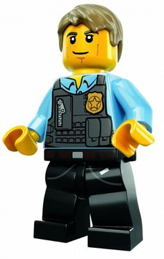 lego city minifigures | ... : Lego City Undercover The Chase Begins, Plus Free Chase Minifigure