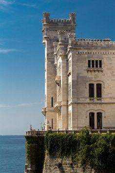 Miramare Castle (Trieste), Friuli-Venezia Giulia, Italy
