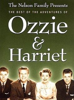 Some of the best screen adventures of former radio stars Ozzie & Harriet Nelson are presented here. The sitcom began in 1952 and ran for 14 seasons; episodes from each season are presented here.