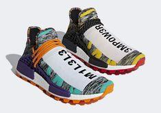4369f738e5f 퍼렐 윌리암스의 감각으로 태어난 아디다스 NMD HU 솔라팩(Pharrell Williams x adidas
