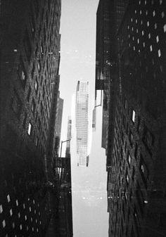 35mm Double Exposures of New York – Joe Smith