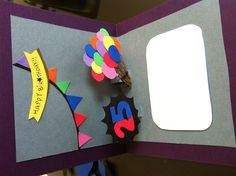 hand made pop-up bithday card