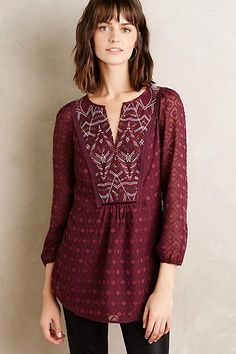 Madiran Peasant Blouse - anthropologie.com