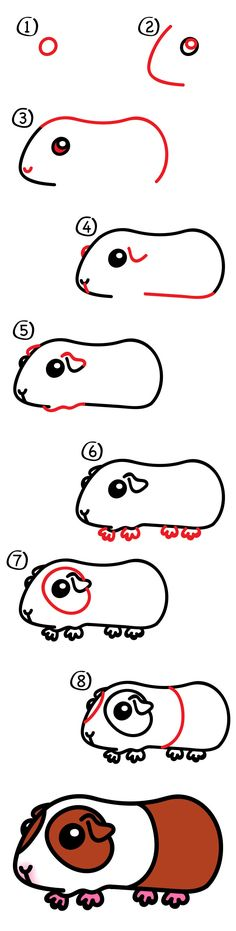 Happy Friday, art friends! Today we're learning how to draw a super cute guinea pig. Follow along with us, but change the coloring to match your own pet guinea pig. I had a lot of fun drawing with Hadley during this lesson (I always have fun, but this one was extra special). I always hope …