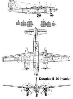 AviationsMilitaires.net — Douglas A-26 Invader